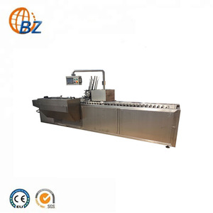 Autofold high capacity vial bottle carton box packing machine