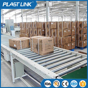 Plast Link Belt conveyor machine for used tire recycling industry