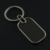 Cheapest metal blank keychain can make two sids logo--9shape in stock