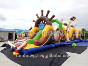 OEM Factory Obstacle Course Inflatable,Giant Inflatable Game for Adults and Kids