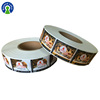 Self Adhesive Candy Label Roll Food Pack Label