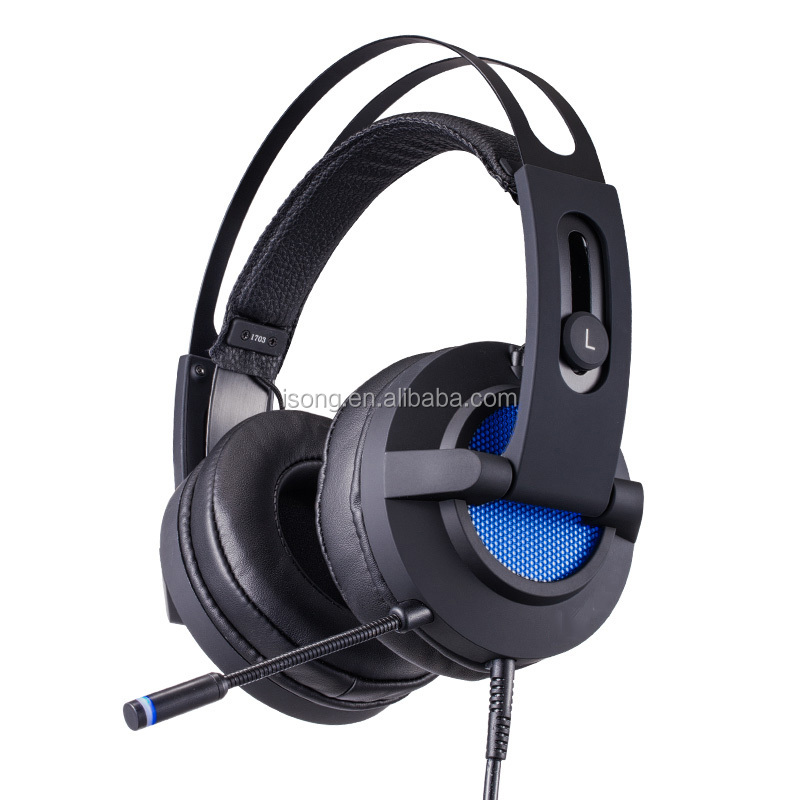7.1 Channel USB Vibration PC Gaming Headset w/Noise Reduction Microphone