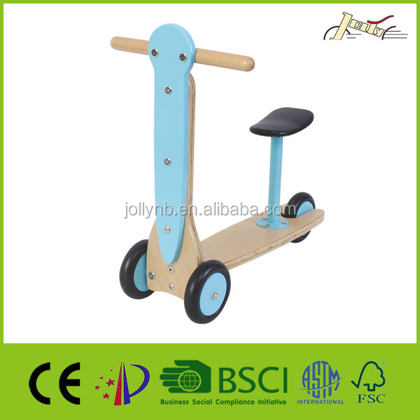 New Wooden Kids Scooter For Balance Training