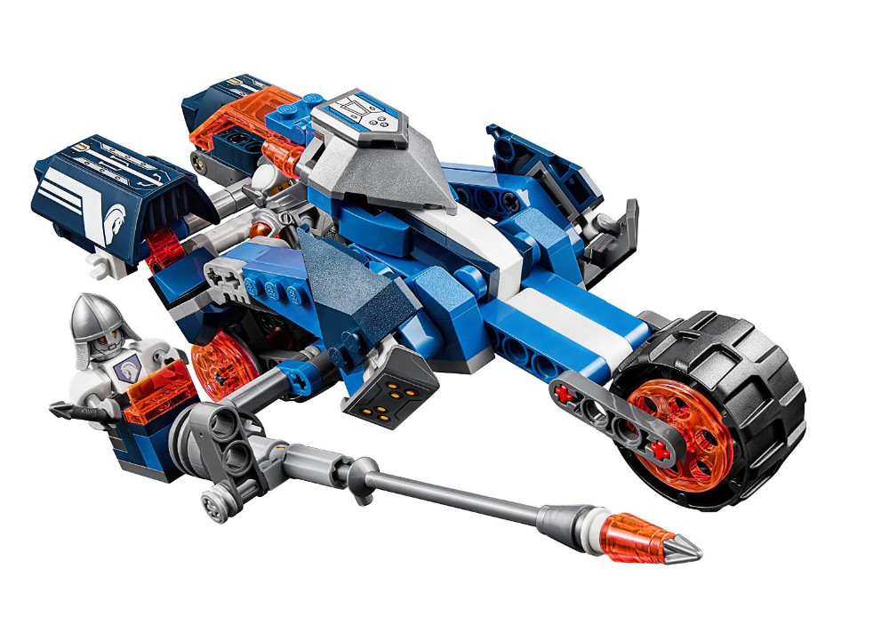UKLego Nexo Knights Lance's Mecha Horse Combination Marvel Building Blocks Kits Toy.