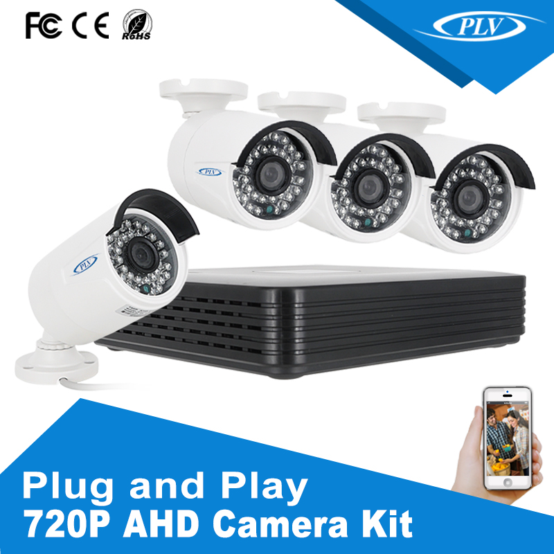 CCTV kit 4 camera cheap home security PLV-AHDK1014B around view monitor system