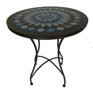 leisure garden outback furniture marble top bistro table set