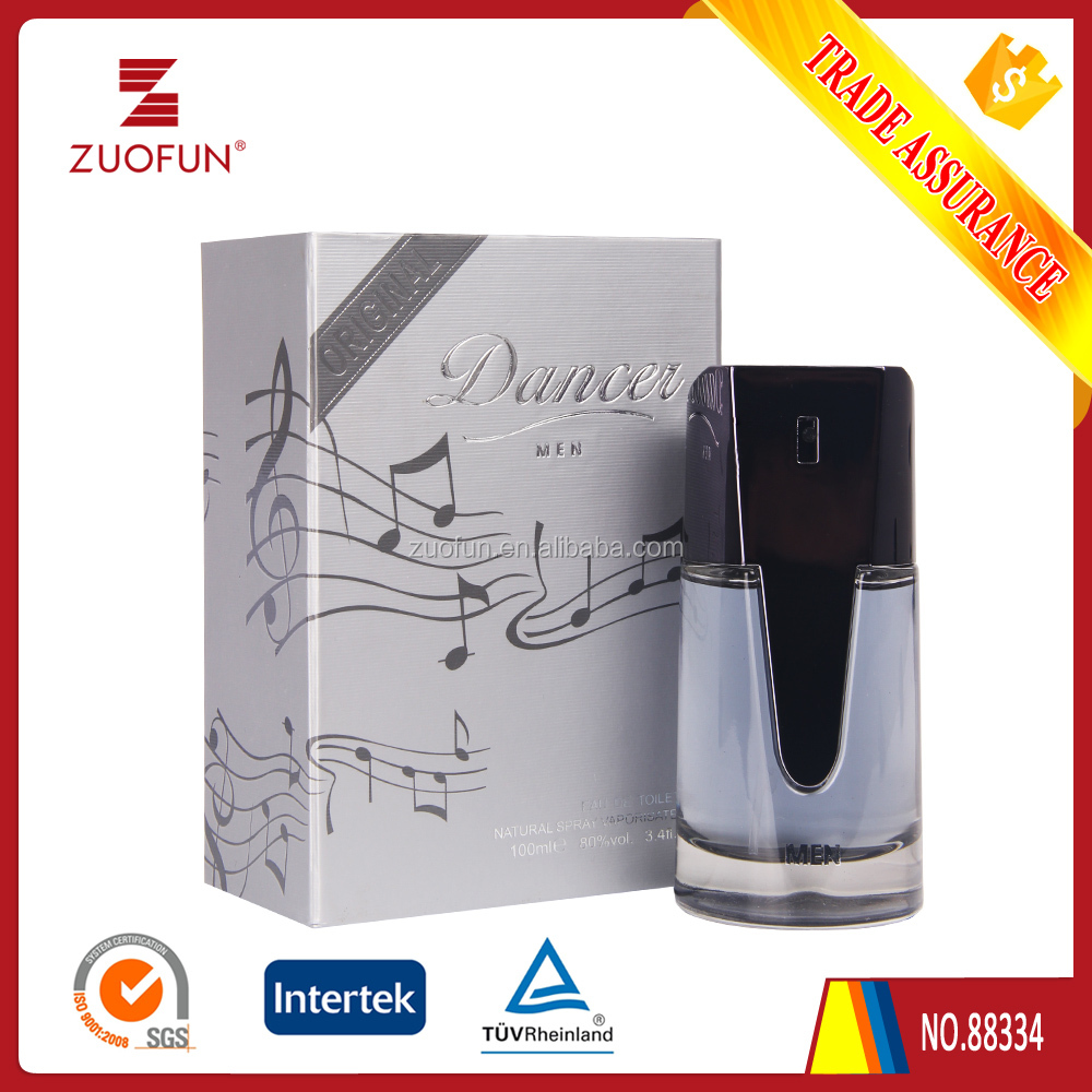 Gray Original Branded Top Sale New Item Dancer Men Perfume With Gift Box Package