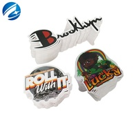 Custom Printing Waterproof Vinyl Stickers Die Cut Stickers Adhesive PVC Label Sticker