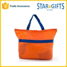 Fashion Reusable Cheap Nylon Foldable Shopping Bag For Women