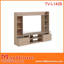 New fancy model living room simple tv stand wood tv cabinet