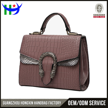 Made In India Whole Crocodile Jing Pin Leather Bags Women Cross Body Bag Beautiful S