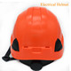 CE EN397 electrical insulation work safety helmet rescue helmet hard hat with visor earmuff
