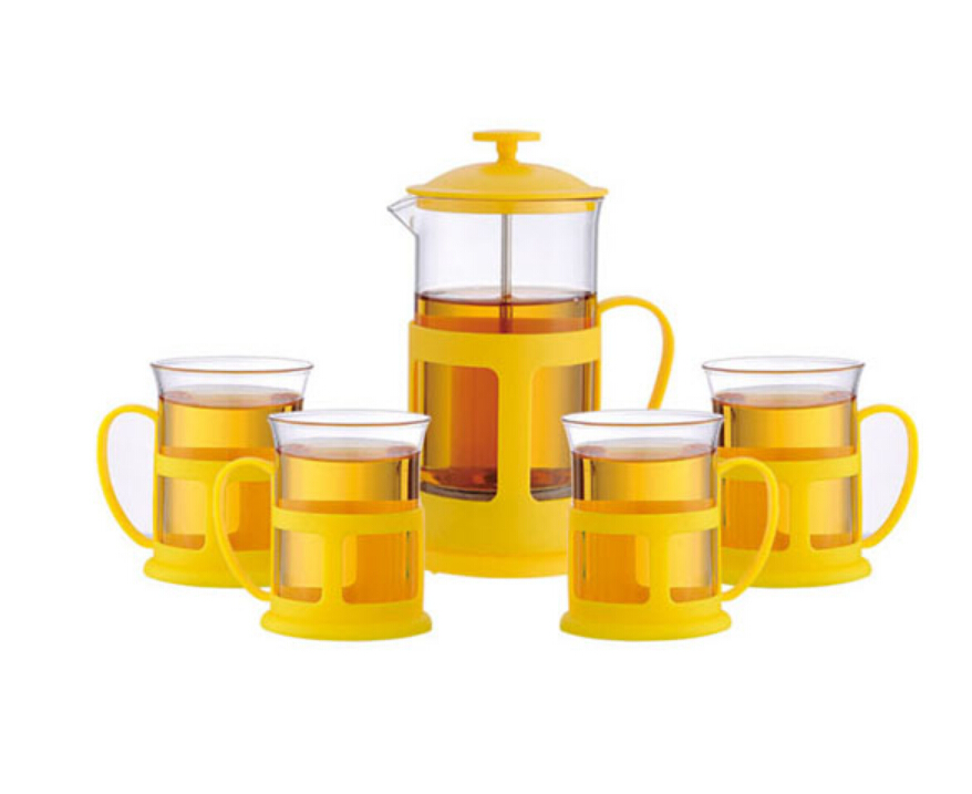 Kahve demleyici kahve yapıcı (Ultra Ince Filtrasyon) 1 Litre (34 Ons) Brews 4 Bardak Kahve