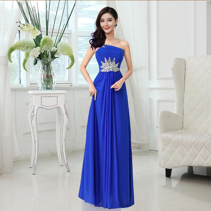 top robes blog robe fille d 39 honneur bleu royal. Black Bedroom Furniture Sets. Home Design Ideas