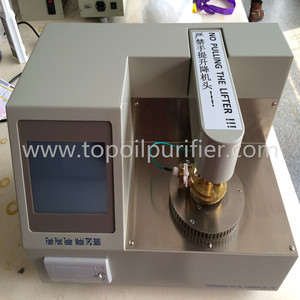 Petroleum oil flash point measuring instrument for determination of flash point
