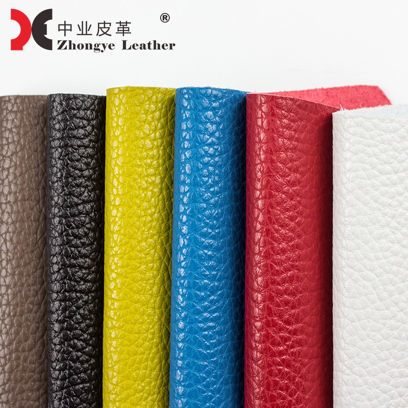 1.5mm Stocklots Synthetic Microfiber <strong>Leather</strong> Eco friendly Embossed Litchi Grain <strong>Leather</strong> Fake Genuine Vegan <strong>Leather</strong> 10