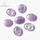 Fashion petal stone charms DIY accessories natural stones for jewelry making