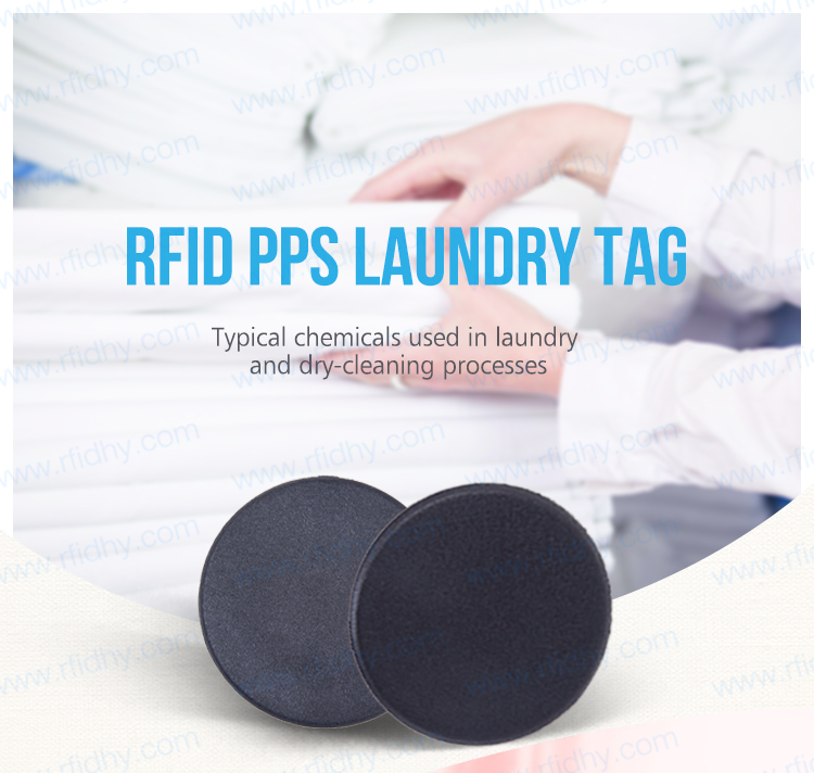 Free Samples Waterproof PPS Laundry Tag 13.56MHz NFC Tag