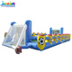 Human Sport Water Filed Inflatable Soap Soccer Playground For Sale