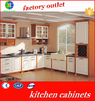 Cheap china factory wholesale mordern kitchen cabinet for Budget kitchen cabinets ltd