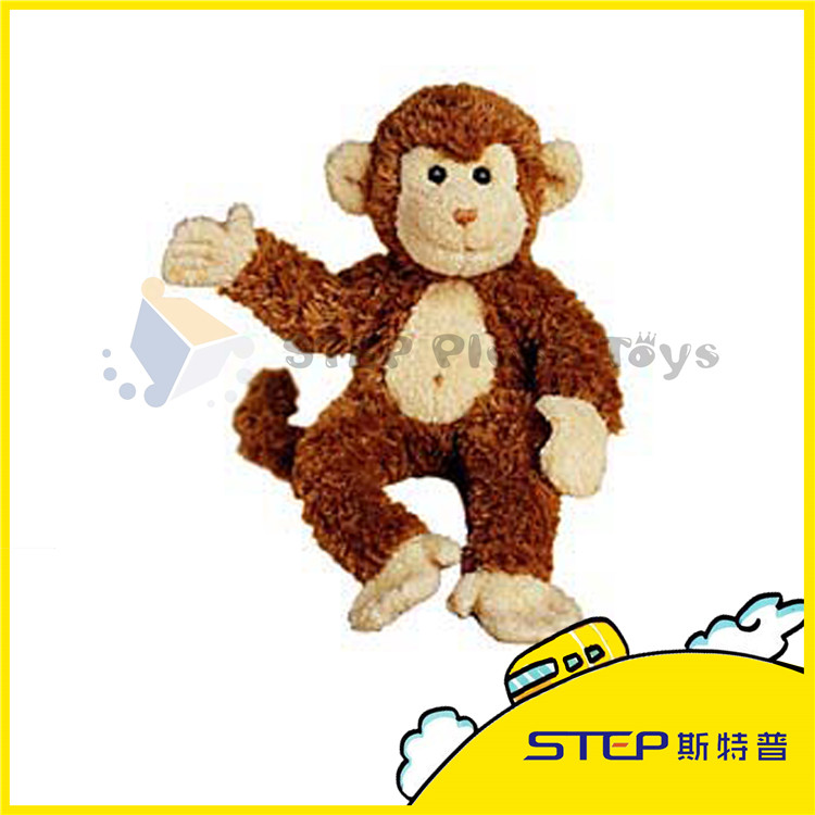 China Wholesale Stuffed Animal Customized Excellent Quality Plush Naughty Monkey For Best Gift