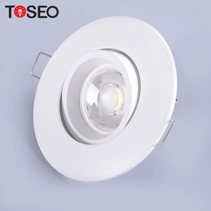 3W 5W 35W 50W dimmable recessed led downlight gu10 fire-rated fixed fireproof cob down light