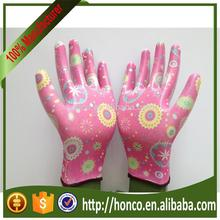 lady Nitrile Dipped Garden Glove