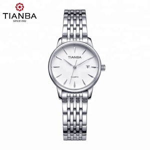 TIANBA Original Branded Ladies Bracelet and leather Japan Quartz small wrist Watches