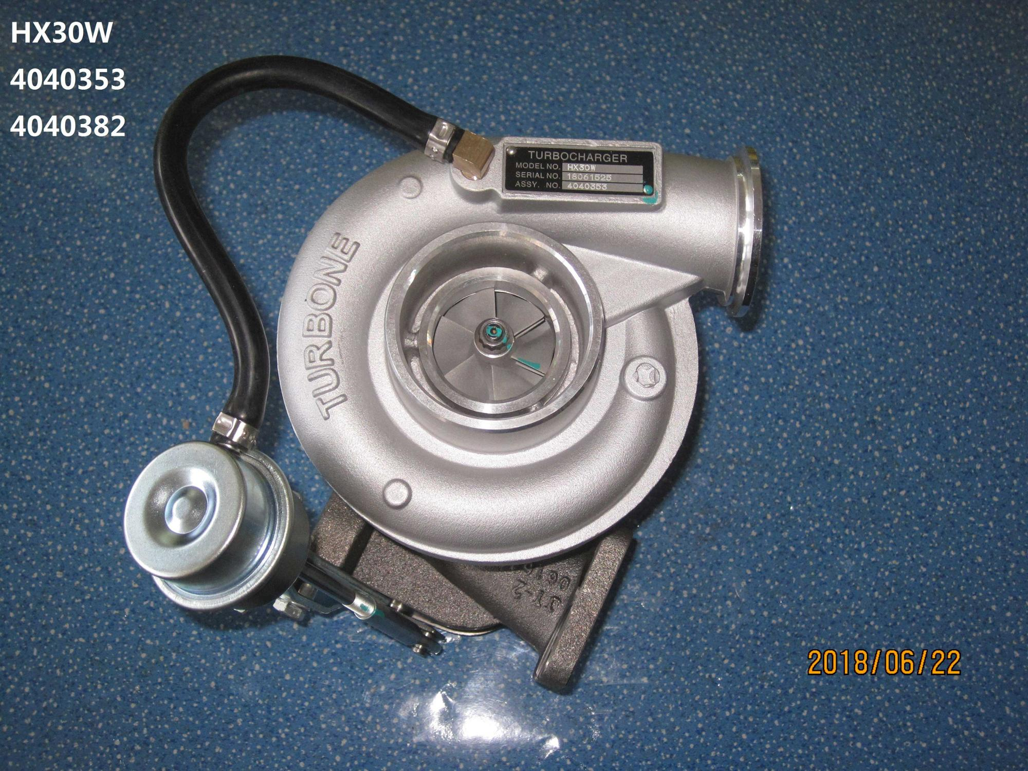 Turbocharger with competitive price for HOLSE T HX30W
