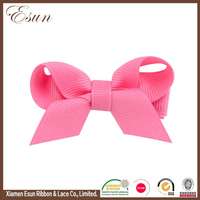 Toddler girls accessories 2017 pink wholesale hair bow supplies