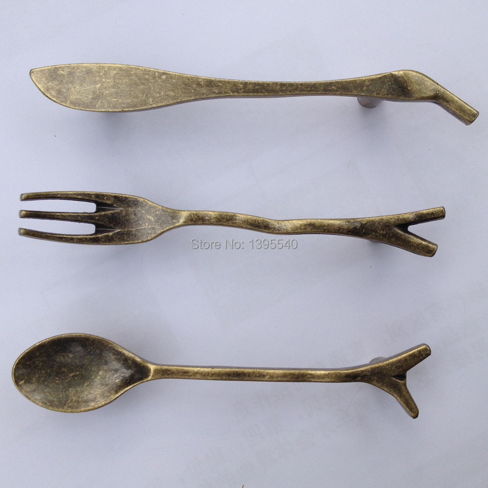 Kitchen Pulls Bars Bronze