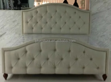 0802-6 Simple Classic Bed with Customized PU leather Bedhead