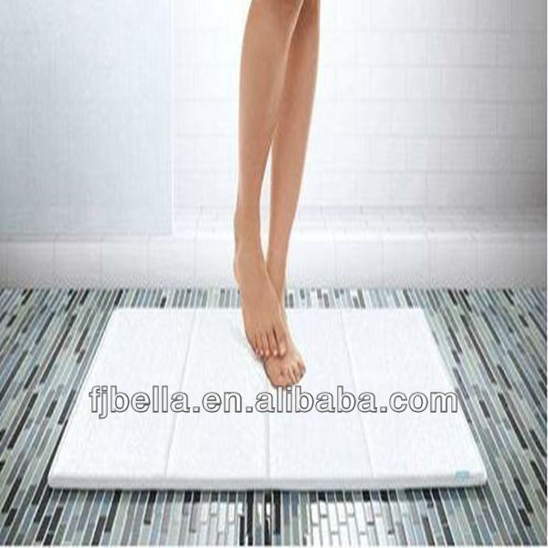 Micro Dry Memory Foam Lxurious Bath Floor Pvc Anti Slip
