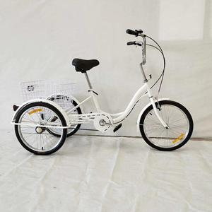 "adult tricycle for india with cheap price,20"" Adult Folding Bike Tricycle trike,adult tricycle in philippines 6 speeds adult"
