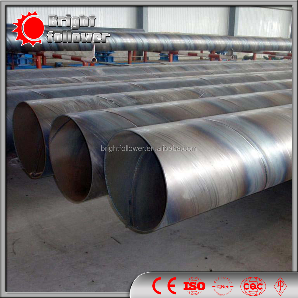 all size SSAW Sprial Steel Tube / Welded Steel Pipe / ERW Steel Pipe