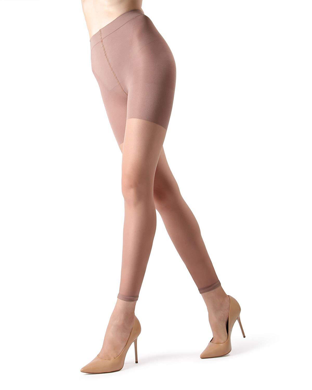 99a1b57b38fcc Get Quotations · MeMoi Sheer Footless Tights | Buy Sheer Footless Pantyhose