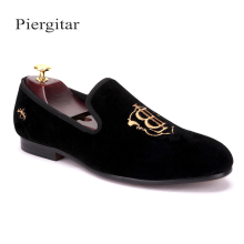 black men velvet wedding shoes wholesaler