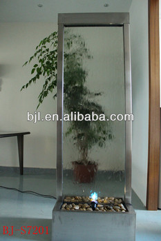 Room Divider Home Indoor Waterfall Glass Wall Water