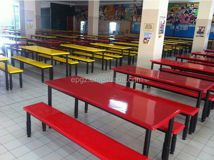 School Dining Hall Furniture Can Table And Bench