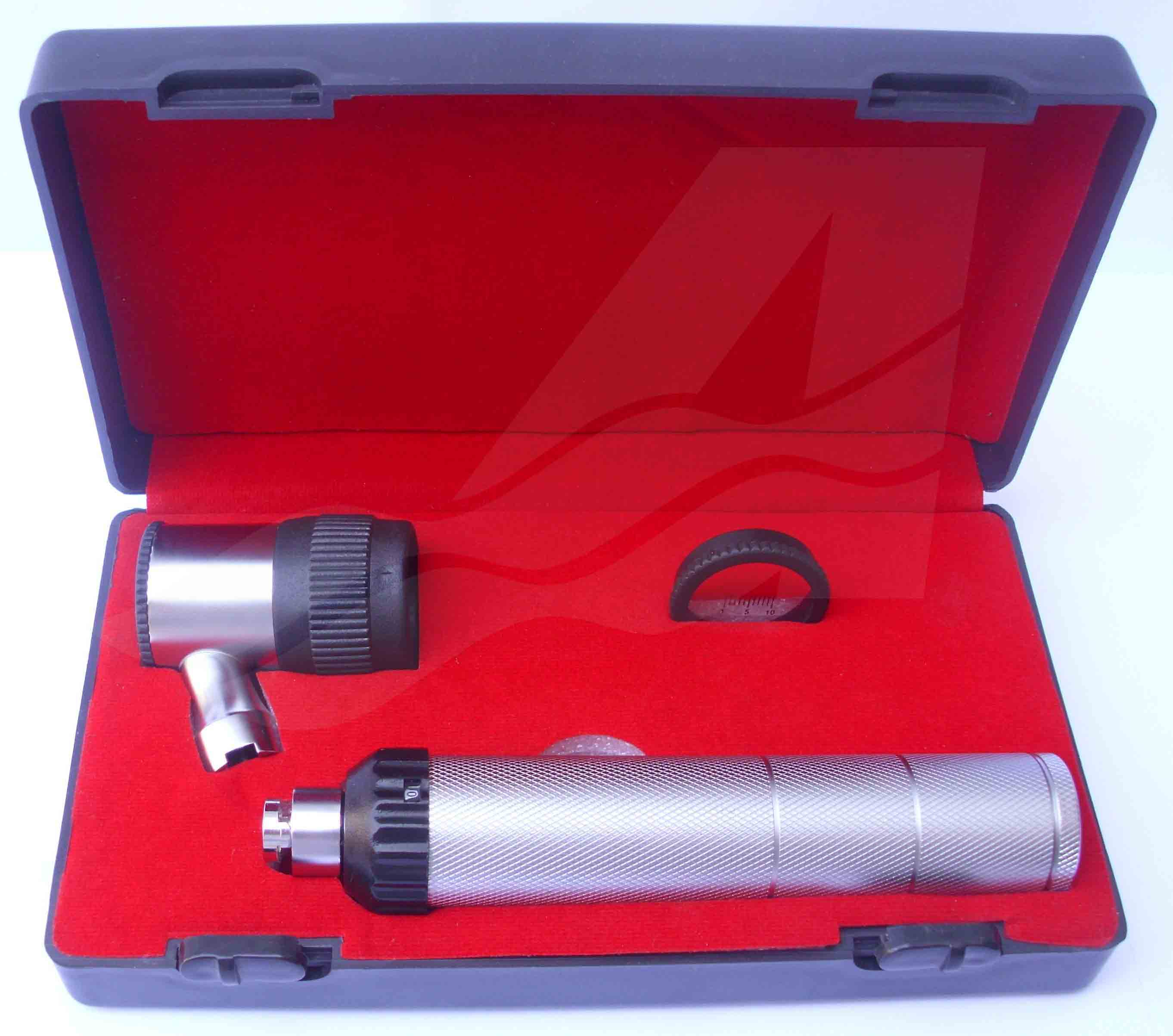 Rechargeable Dermatoscope Set with built-in battery and built-in charger