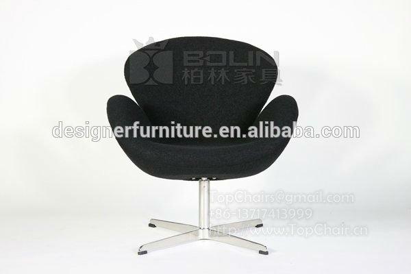 silla del cisne de cuero vintage-Sillas para la Sala de Estar ...