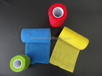 Chaep price Medical Rubber Non-woven Self-adhesive Elastic cohesive Bandage