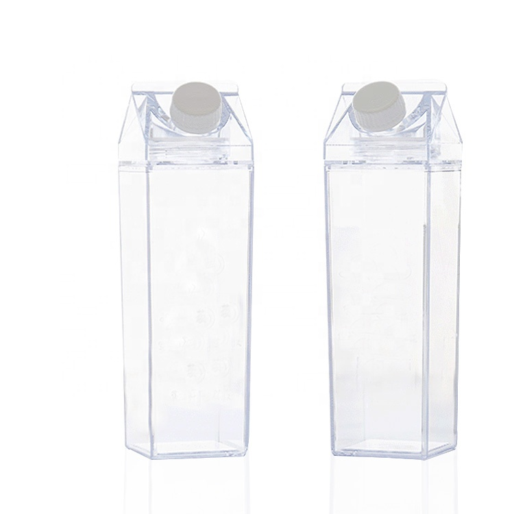 Plastic portable water <strong>bottles</strong> milk carton water <strong>bottle</strong> with custom