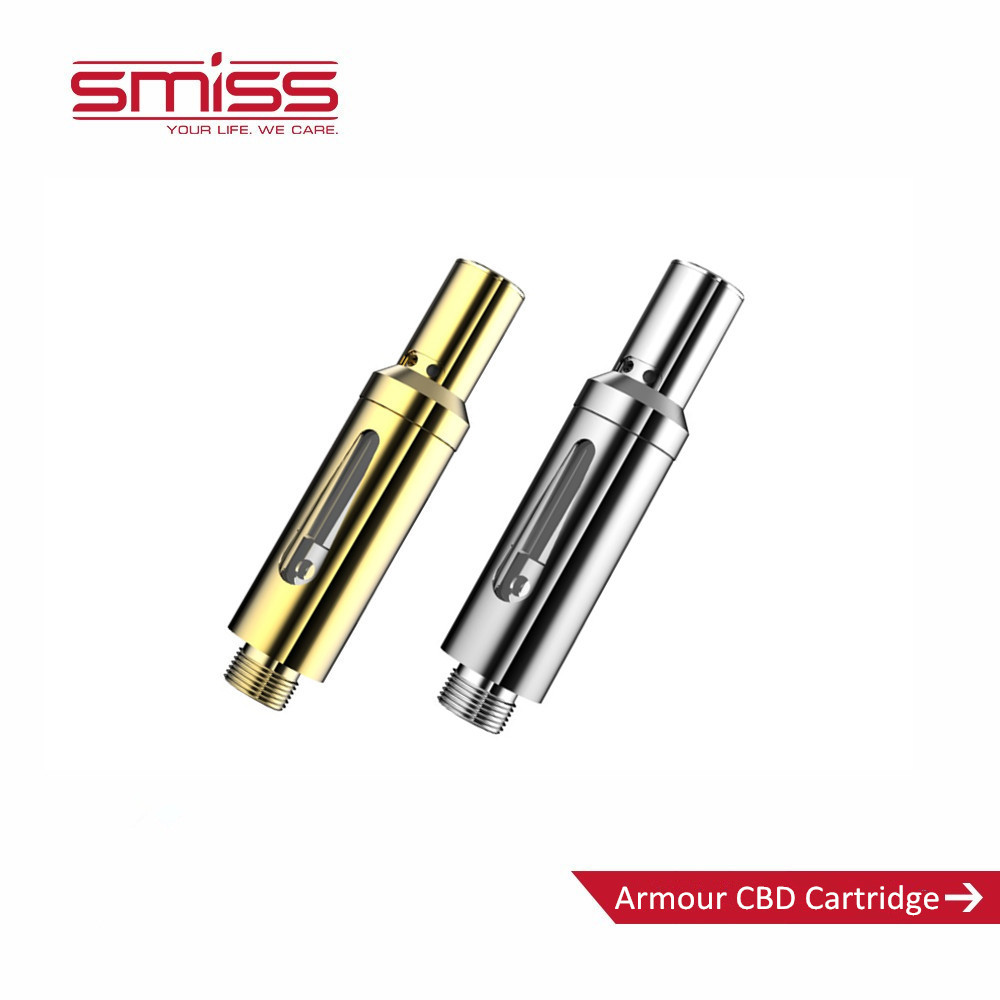 SMISS blister pack quartz cbd vape cartridge dab pen cartridge
