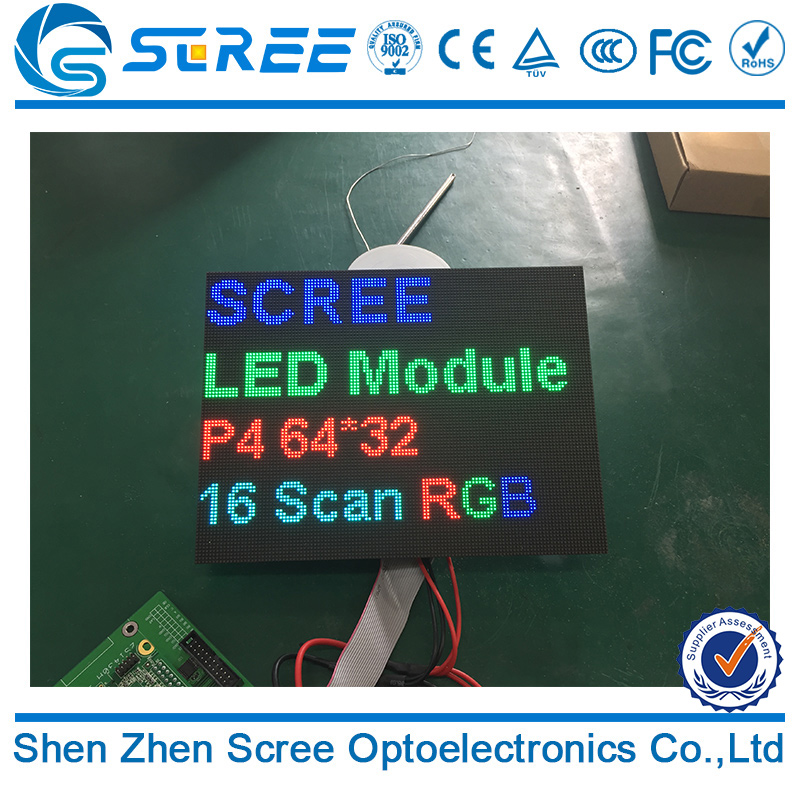 Big screen Kinglight led lamp MBI5124IC indoor smd2121 full color p4 led screen made in shenzhen china