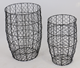 Metal Wire Mesh Laundry Storage Basket