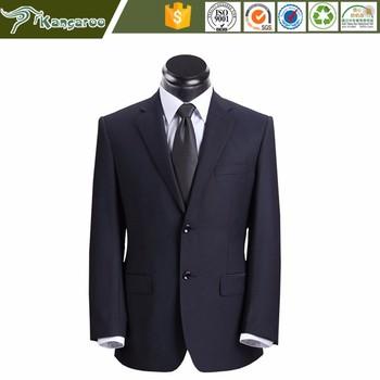 Ku057 Coat Pant Men Suit Office Uniform Design Plus Size