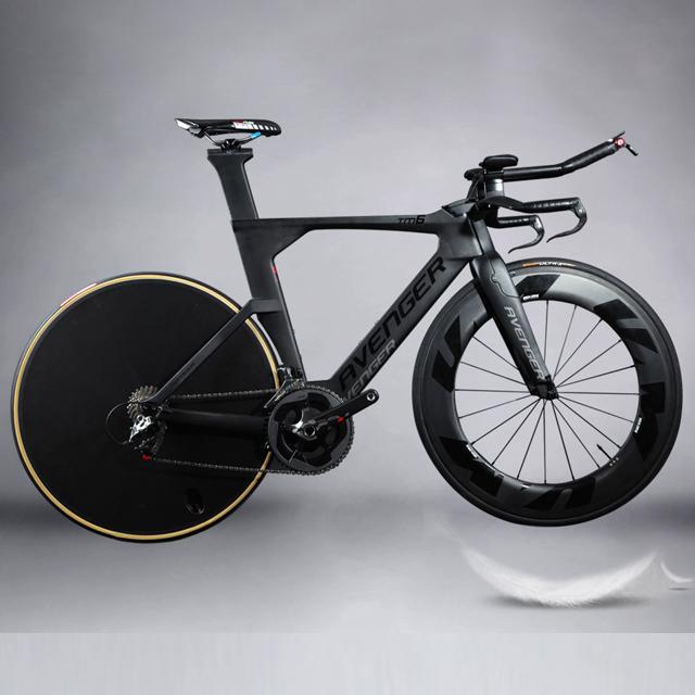 2018 Hot sale oem carbon tt bike frame wholesale 700C carbon TT bike frame time trial carbon triathlon bike TM6