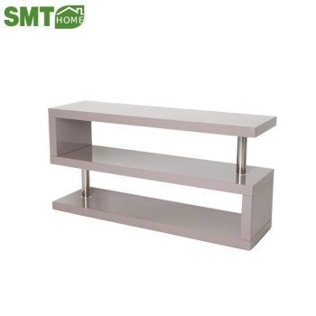 White High Gloss Tv Cabinet Stand 80cm Small Living Room Buy High