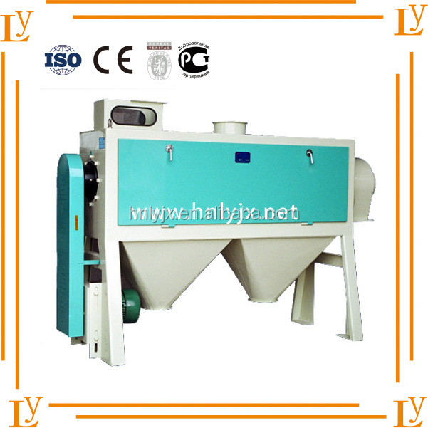 Small Grain Roller Mill, High Efficiency Horizontal Wheat Scourer for Sale